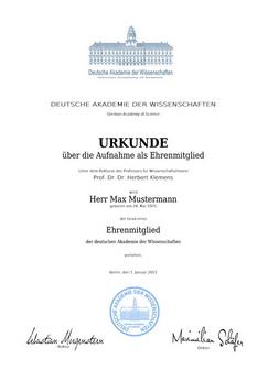 Geschenke, Geschenkideen, Akademie der Wissenschaften, Deutsche Akademie der Wissenschaften